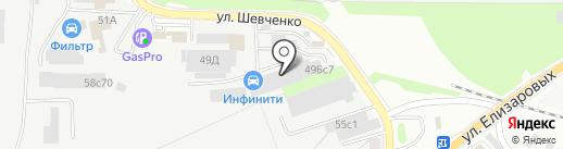 ЕвроСТО на карте Томска