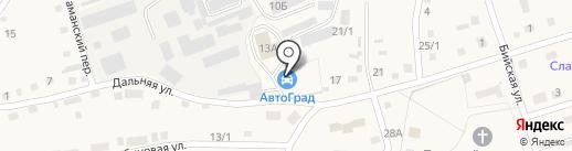 Заправка на карте Белокурихи