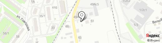 АвтоБуксир на карте Томска