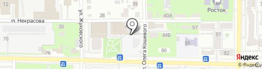 Томскстройзаказчик, УМП на карте Томска