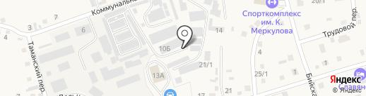 Гарант на карте Белокурихи