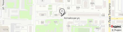 Парижанка на карте Томска