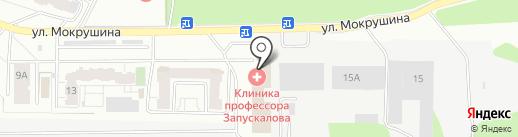 Академик на карте Томска