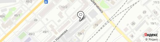 Мастерская по ремонту обуви на карте Томска