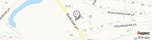 Магазин ритуальных принадлежностей на карте Белокурихи