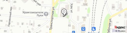 Атмосфера на карте Томска
