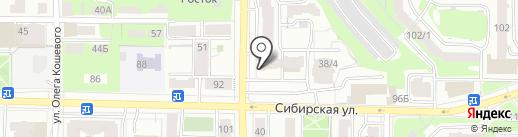 Бахус на карте Томска