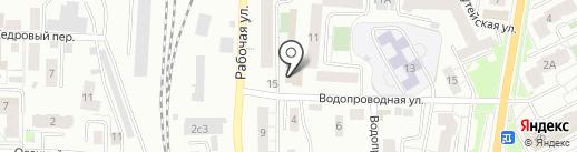 Шик по разуму на карте Томска