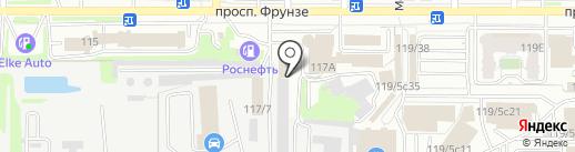 Chok на карте Томска