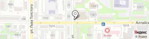 Аптечный дом на карте Томска