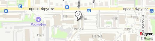 Магазин искусственных цветов на карте Томска
