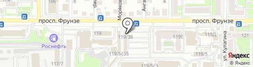 Tele2 на карте Томска