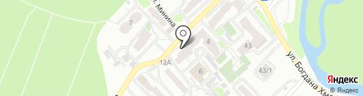 Пять градусов на карте Томска