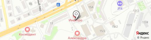 ММА ДОСААФ ТОМСК на карте Томска