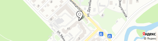 Автомасла на Степановке на карте Томска