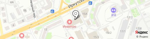АБАНГАР на карте Томска