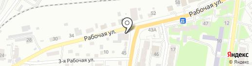 GARAGE на карте Томска
