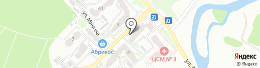 Гаруда на карте Томска