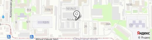 ТурникиТомск на карте Томска