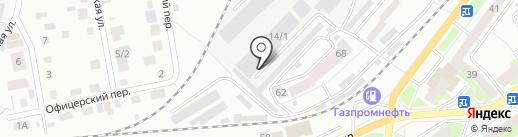 СИБВЕНТ на карте Томска
