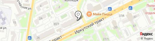 Усадьба на карте Томска
