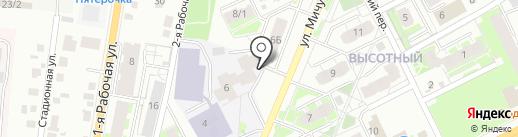 Мастерская по ремонту обуви и одежды на карте Томска