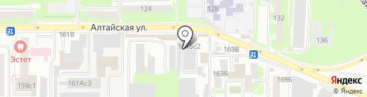 Subaru Gangster`s Shop на карте Томска