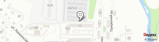 ЭкоЧистка на карте Томска