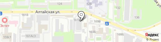 UTOPIA на карте Томска