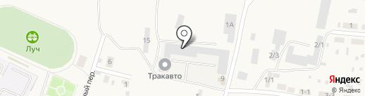 ТракАвто на карте Зональной станции
