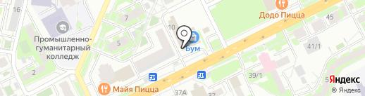 Умелица на карте Томска