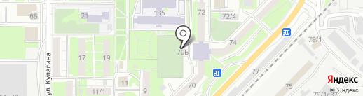 Каток у Хобби-Центра на карте Томска