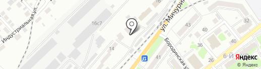 Ветеринарная клиника на карте Томска