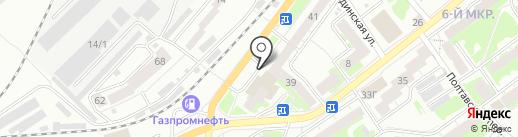 Володик на карте Томска