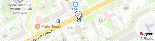 Doner LAB на карте Томска