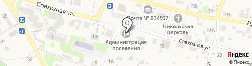 Сбербанк России на карте Зональной станции