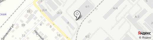 АВАНТ Авто на карте Томска