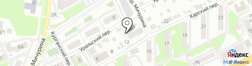Ника на карте Томска