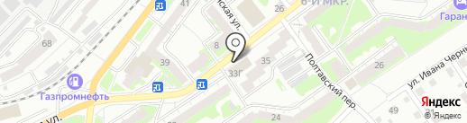 Slim на карте Томска