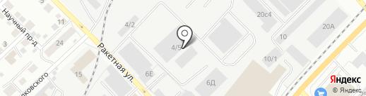 АвтоГрузовой центр на Мостовой на карте Томска