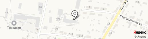 Сибмотор на карте Зональной станции