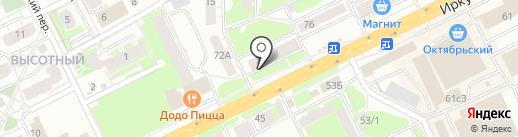 АСЦ-Ремиком на карте Томска