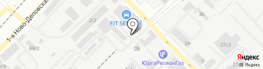 Брейнсторм на карте Томска