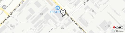 Содействие-СМС на карте Томска