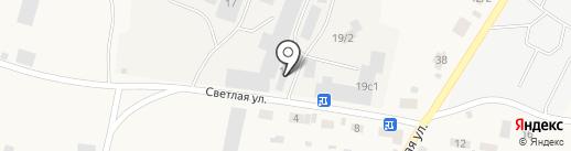 Внедорожник на карте Зональной станции