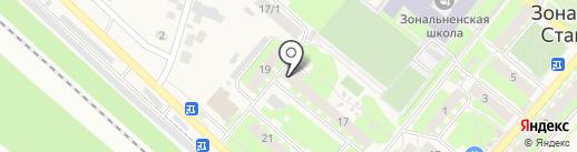 Сибнефтехимтрейд на карте Зональной станции