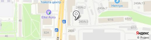 Webasto на карте Томска