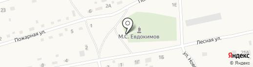 Часовня Архангела Михаила на карте Верха-Обского