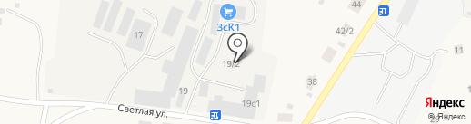 Автосервис на карте Зональной станции