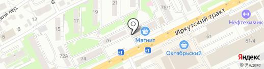 Томское Финансовое Агентство на карте Томска